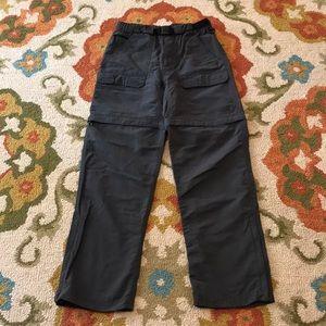 *2/$45!! The Northface zip off pants